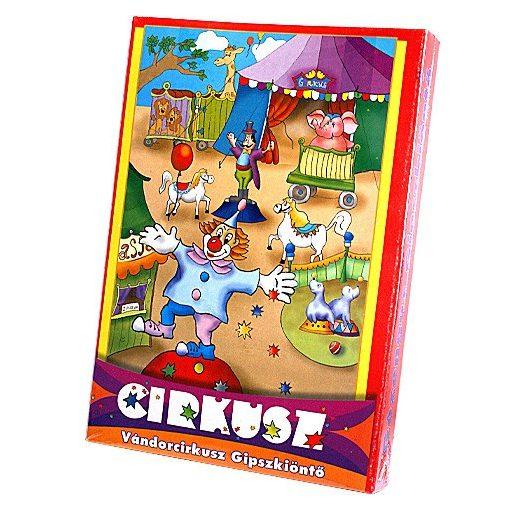Gipszkiöntő cirkusz (doboz) (No.:508880)